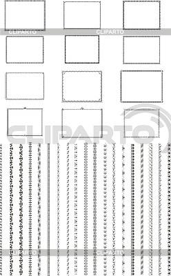 Vignetten und Rahmen | Illustration mit hoher Auflösung |ID 3031515