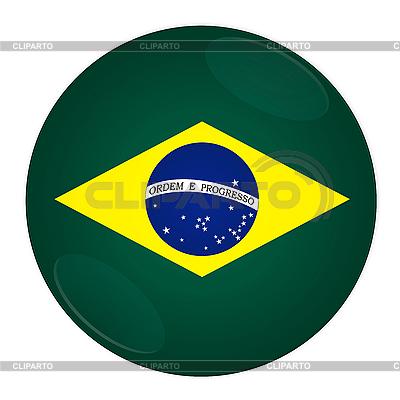 Icon mit Flagge von Brasilien   Illustration mit hoher Auflösung  ID 3032508
