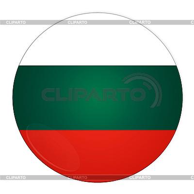 Bułgaria przycisk z flagą | Stockowa ilustracja wysokiej rozdzielczości |ID 3032510