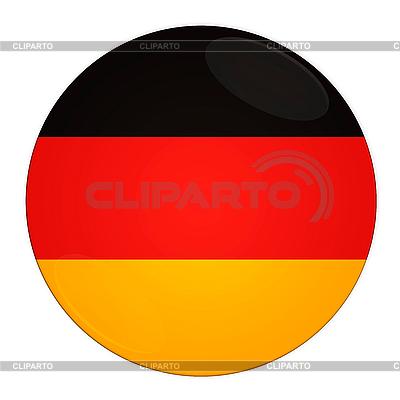 Icon mit Flagge Deutschlands | Illustration mit hoher Auflösung |ID 3032540