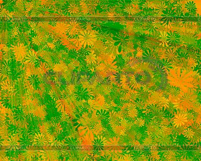 Abstrakter Hintergrund mit Blättern | Illustration mit hoher Auflösung |ID 3033672