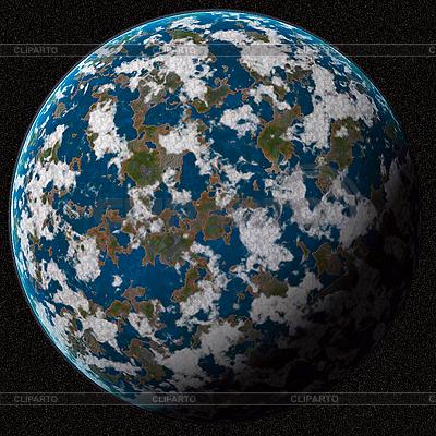 Blauer unbekannter Planet | Foto mit hoher Auflösung |ID 3033676