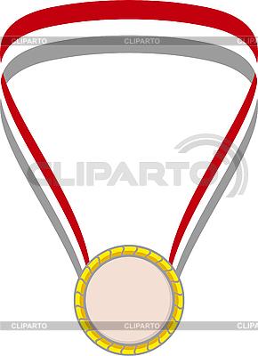 Złoty medal | Klipart wektorowy |ID 3034760