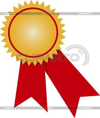 Złoty medal | Klipart wektorowy |ID 3034762