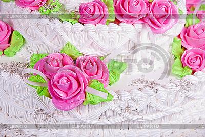 Tort weselny | Foto stockowe wysokiej rozdzielczości |ID 3035020
