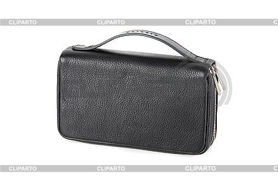 Kleine schwarze männliche Tasche | Foto mit hoher Auflösung |ID 3036456