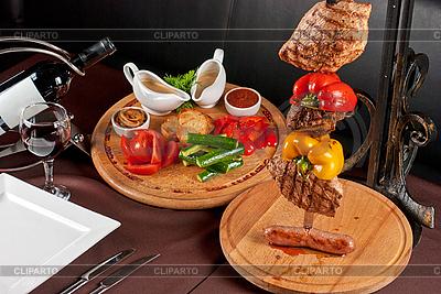 Servierter Tisch | Foto mit hoher Auflösung |ID 3036511