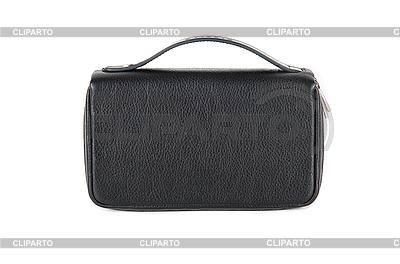 Kleine schwarze männliche Tasche | Foto mit hoher Auflösung |ID 3037317