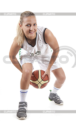活跃的女篮球运动员 | 高分辨率照片 |ID 3019941