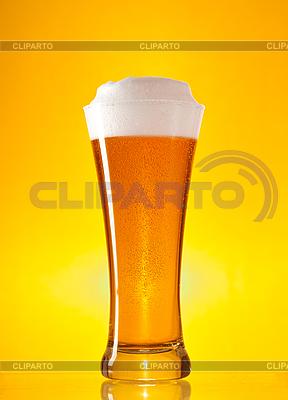 Vollständiges Glas Bier mit Schaum | Foto mit hoher Auflösung |ID 3019994
