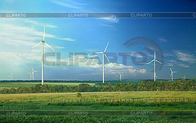 Alternative Energie, Windkraftanlagen | Foto mit hoher Auflösung |ID 3020479