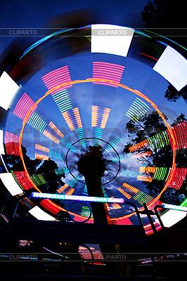 Riesenrad, Nachtsicht | Foto mit hoher Auflösung |ID 3020484