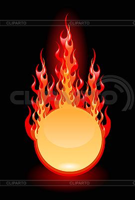 Fire frame | Klipart wektorowy |ID 3020575