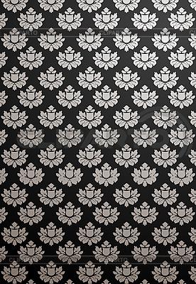 Black and Silver Pattern Necktie - Cufflinks - Designer Cufflink