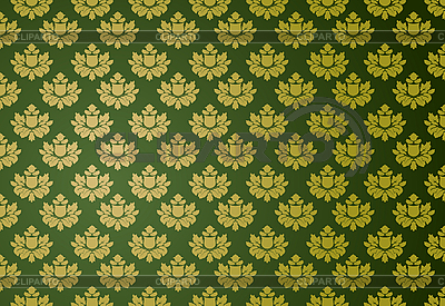 Grünes Glamour-Muster | Stock Vektorgrafik |ID 3021491