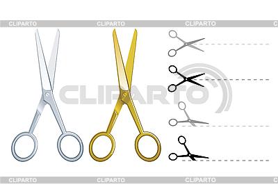 Set von Schere | Stock Vektorgrafik |ID 3021818