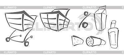 Icons für Einkauf | Stock Vektorgrafik |ID 3021820