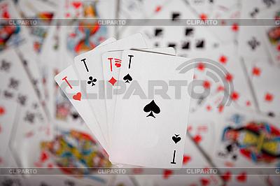 Cztery asy | Foto stockowe wysokiej rozdzielczości |ID 3022606