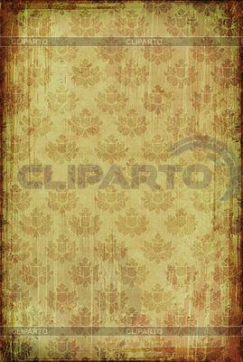 复古花图案壁纸 | 高分辨率插图 |ID 3023698