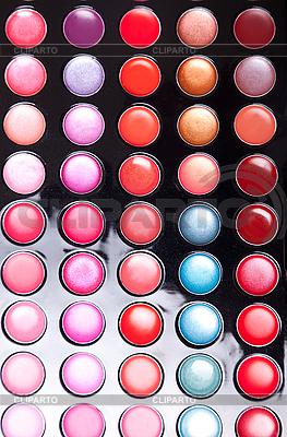 Kolorowe błyszczyk paleta | Foto stockowe wysokiej rozdzielczości |ID 3110066
