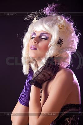 Burlesque girl portrait | Foto stockowe wysokiej rozdzielczości |ID 3124538