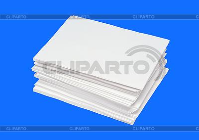 Różne wielkości stosów wizytówek | Foto stockowe wysokiej rozdzielczości |ID 3019818
