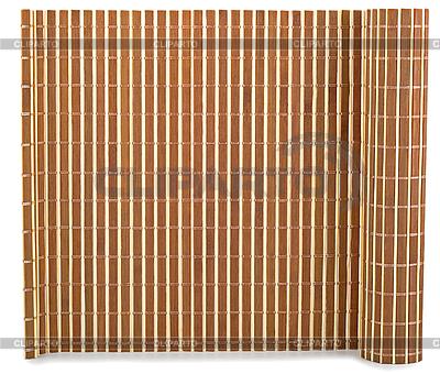 Bamboo mat | Foto stockowe wysokiej rozdzielczości |ID 3063720