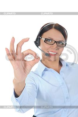 Schöne junge Frau in Kopfhörer | Foto mit hoher Auflösung |ID 3021605