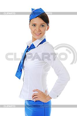 有吸引力的年轻空姐 | 高分辨率照片 |ID 3021985