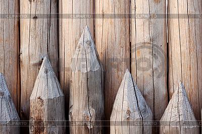 Ściana domu wiejskiego | Foto stockowe wysokiej rozdzielczości |ID 3021998