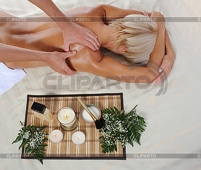 нежный массаж фото
