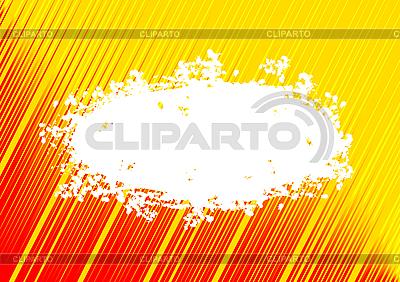 Żółte tło z chmur ramie | Klipart wektorowy |ID 3022848