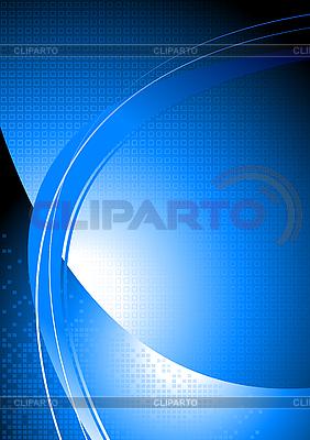 Heller abstrakter blauer Hintergrund | Stock Vektorgrafik |ID 3022982