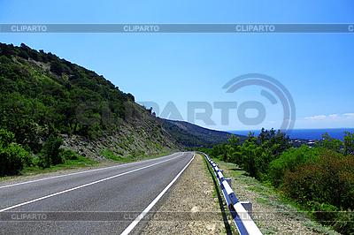 Górskiej drogi | Foto stockowe wysokiej rozdzielczości |ID 3023605