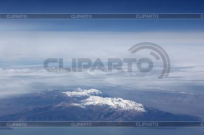 Schneebedeckte Berge und Wolken | Foto mit hoher Auflösung |ID 3023626