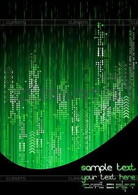 Zielone tło technicznych | Klipart wektorowy |ID 3023965