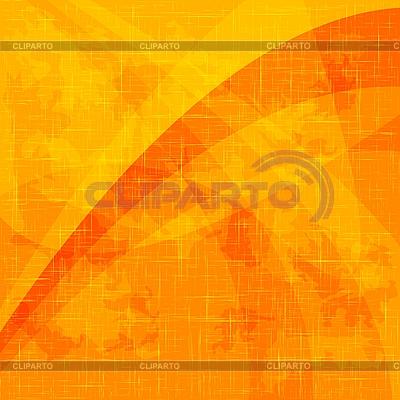 Orangefarbener Grunge-Hintergrund | Stock Vektorgrafik |ID 3024049