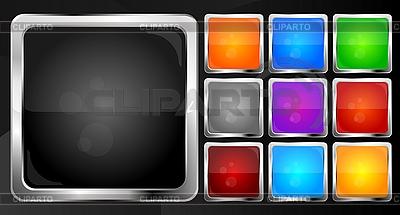 Webbuttons - Sammlung | Stock Vektorgrafik |ID 3024079