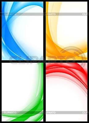 Einfache abstrakte Hintergründe | Stock Vektorgrafik |ID 3024820