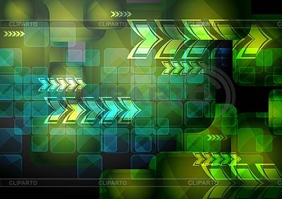 Technischer Hintergrund | Stock Vektorgrafik |ID 3024922