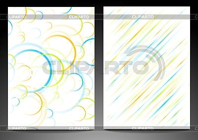 Abstrakte Linien und Kreise | Stock Vektorgrafik |ID 3024960