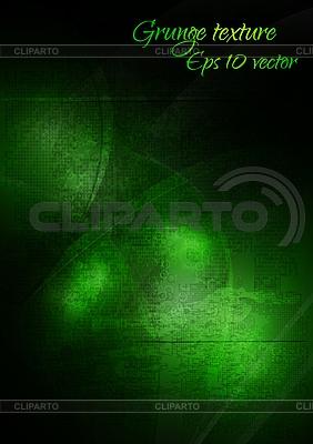 Grüner Grunge-Hintergrund | Stock Vektorgrafik |ID 3025097