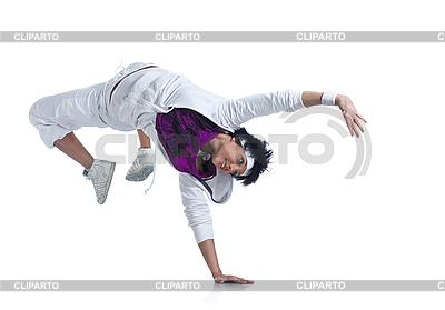 Schöne junge Frau tanzt | Foto mit hoher Auflösung |ID 3024251