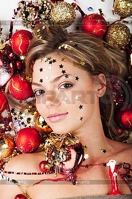 Neujahr-Mädchen | Foto mit hoher Auflösung |ID 3024257