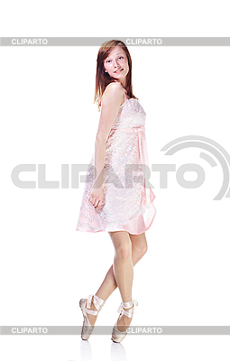 Junge Ballerina tanzt | Foto mit hoher Auflösung |ID 3024281