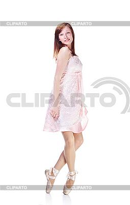 Молодая балерина танцует | Фото большого размера |ID 3024281