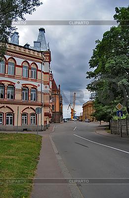 Straßen in Vyborg. Weg zum Hafen | Foto mit hoher Auflösung |ID 3024705