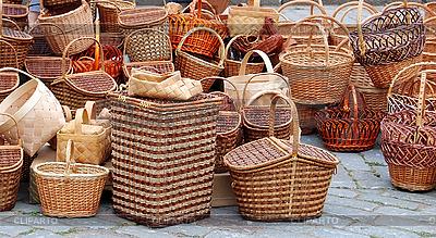 Плетеные корзины | Фото большого размера |ID 3024706