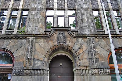 Haus in Wyborg. Fenster | Foto mit hoher Auflösung |ID 3025895