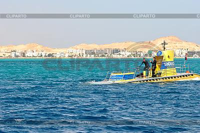 Gelbes U-Boot für Exkursionen | Foto mit hoher Auflösung |ID 3026434
